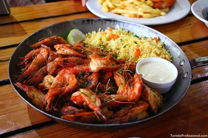 comida em Cape Town