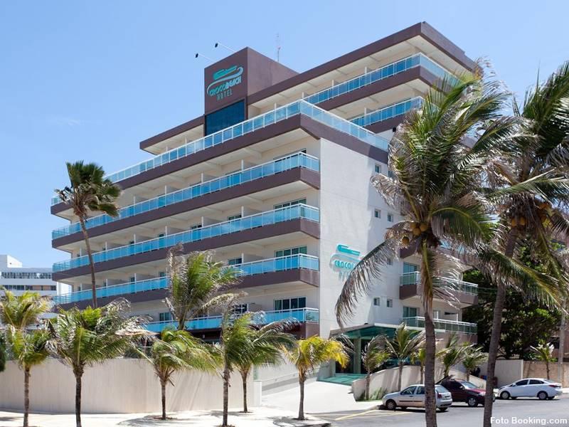 hotel do complexo crocobeach na praia do futuro fortaleza