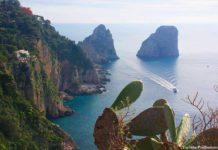 Capri ilha da Itália