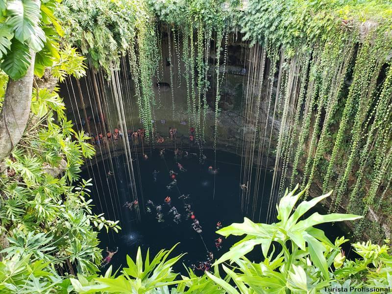 cenote Ik Kil Cancún