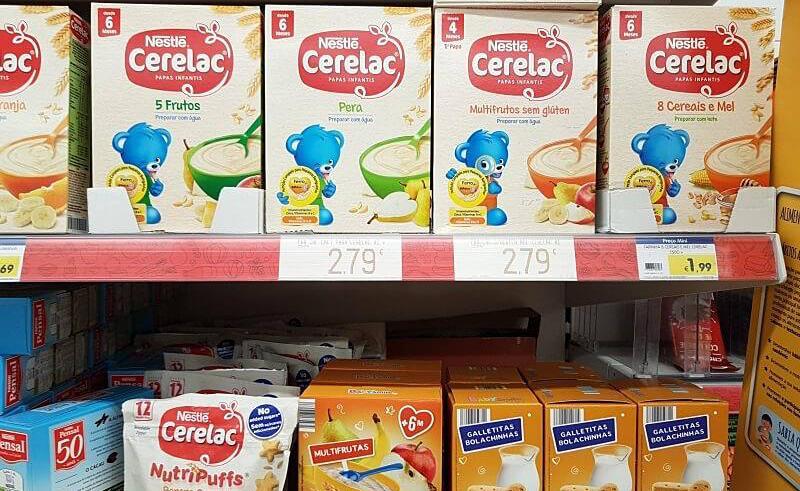 Preços dos produtos portugueses