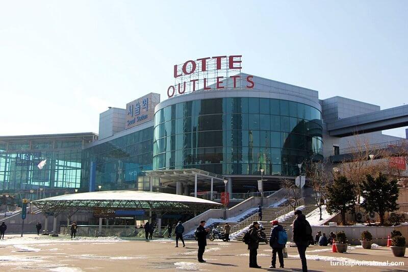 dicas de compras em Seul