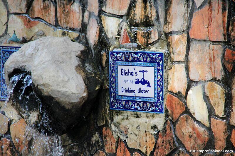 Fonte de Eliseu - Jericó, a cidade mais antiga do mundo