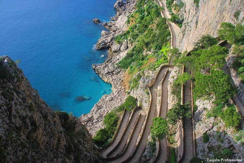 Ilha de Capri Italia - O que fazer em Capri, na Itália, como chegar e onde ficar