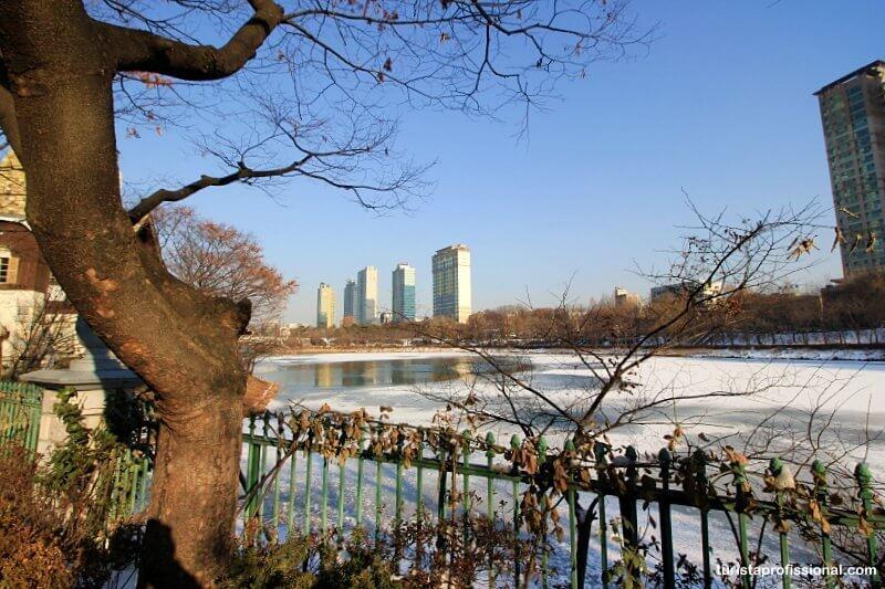 Clima em Seul, na Coréia do Sul