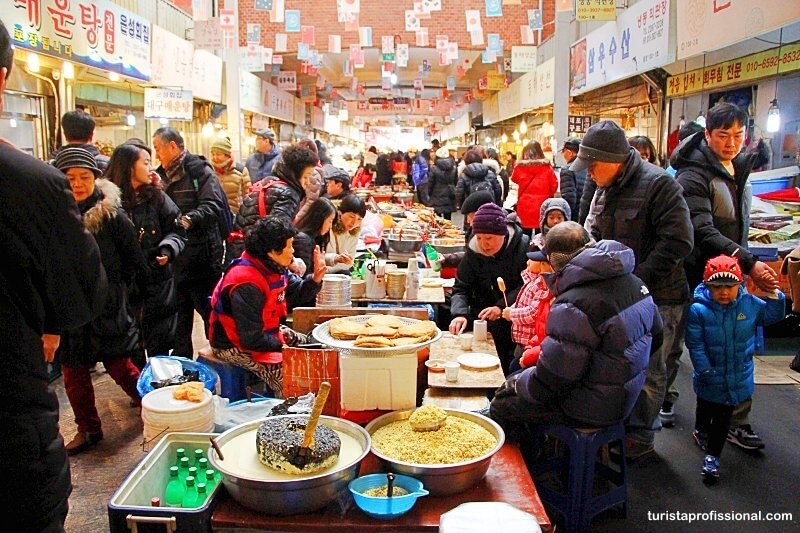 Mercados em Seul