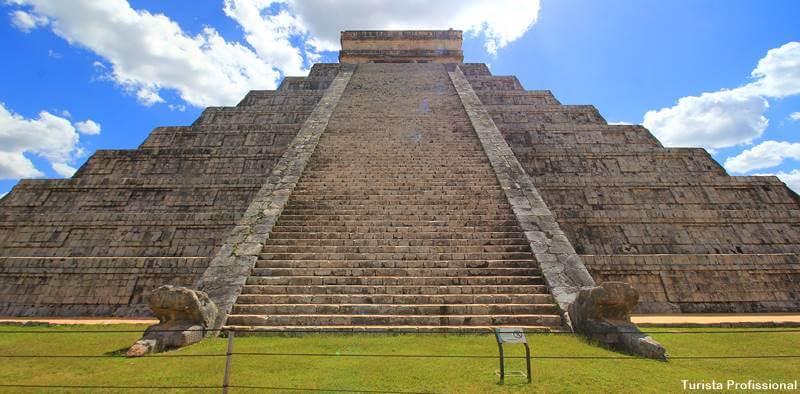 Piramide Kukulcan Chichen Itza Mexico - Chichén Itzá [México]: dicas para visitar e história