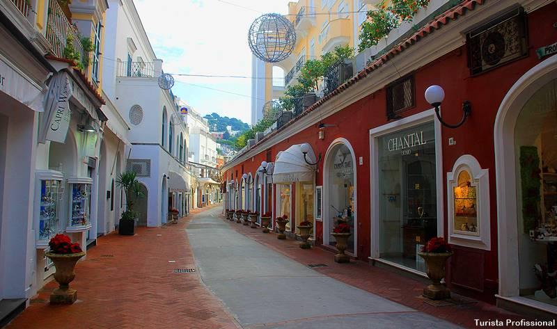 Via Camerelle Capri - O que fazer em Capri, na Itália, como chegar e onde ficar