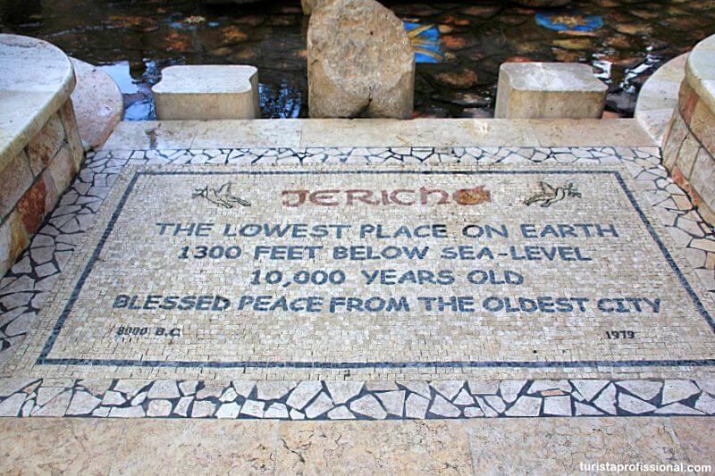 a cidade mais antiga do mundo - Jericó, a cidade mais antiga do mundo