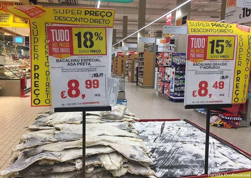 bacalhau de portugal - Supermercados em Portugal