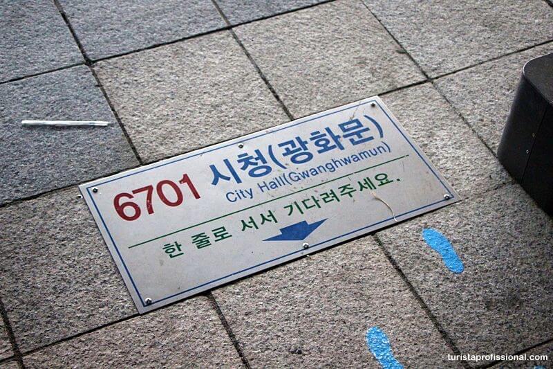 como chegar a Seul