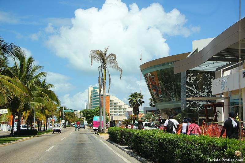 Onde fica Cancún