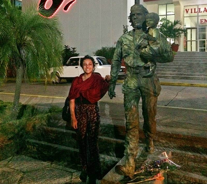 Estátua de Che Guevara em Cuba