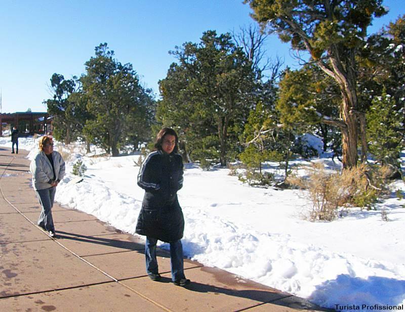 inverno no Grand Canion