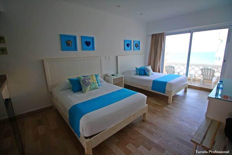 quarto de hotel em Cancún