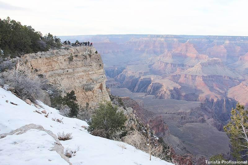 Grand Canion no inverno