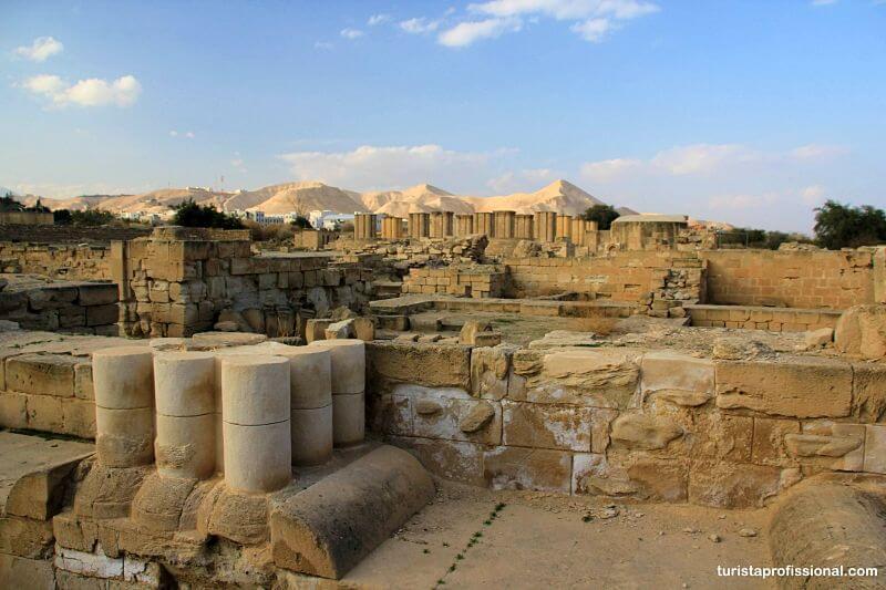 Palácio de Hisham em Jericó, a cidade mais antiga do mundo