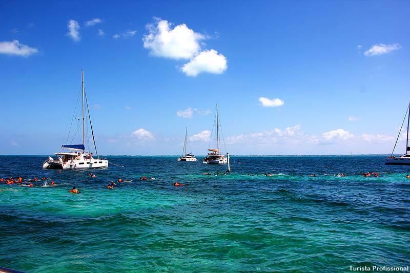 passeio de veleiro em Cancún