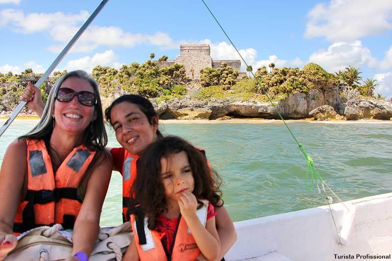 passeio de barco em tulum mexico - Dicas de Tulum: o sítio maia à beira-mar!