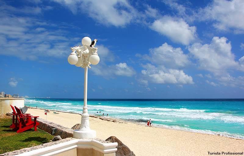Hotel lem frente a praia em cancun