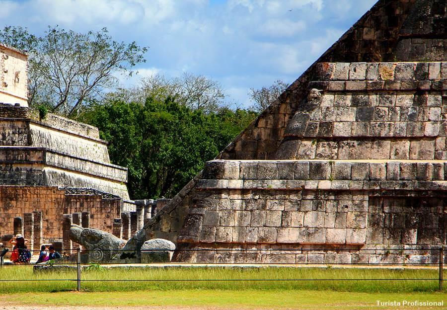 serpente piramide kukulcan chichen itza - Chichén Itzá [México]: dicas para visitar e história