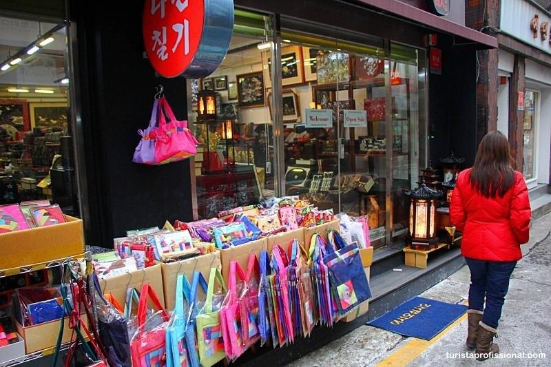 souvenier em Seul