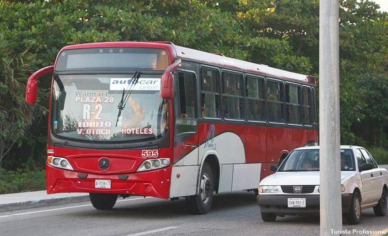transporte publico em cancun 1 - Viagem para Cancún: dicas práticas!