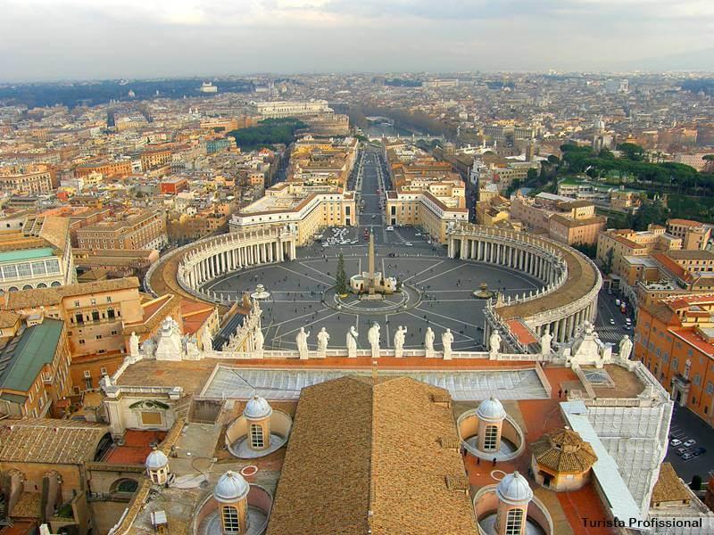 Praça de São Pedro, no Vaticano
