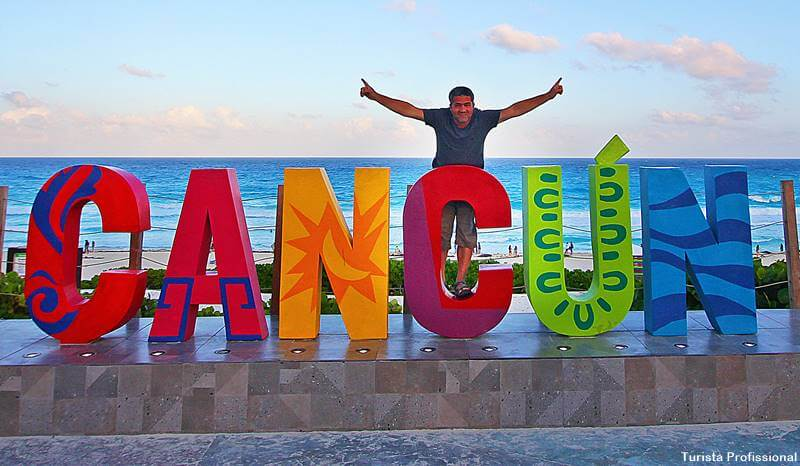 letreiro Cancún