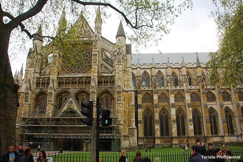 Abadia de Westminster - Como chegar nas principais atrações turísticas de Londres