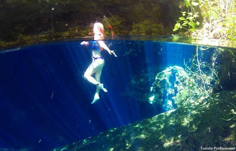 Cenote Cristalino no México