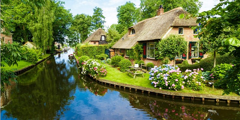 Giethoorn, cidades da Holanda