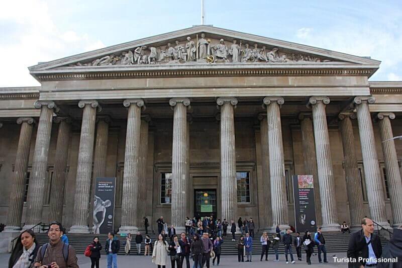 Museu Britanico - Como chegar nas principais atrações turísticas de Londres
