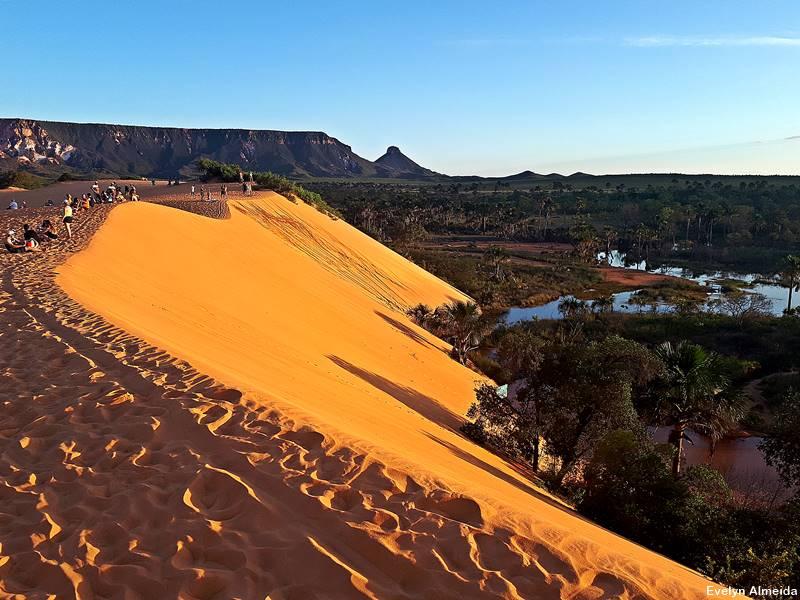 Por do sol nas dunas do Jalapao - Dicas do Jalapão para quem vai pela primeira vez