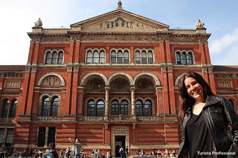 Victoria Albert Museum - Como chegar nas principais atrações turísticas de Londres