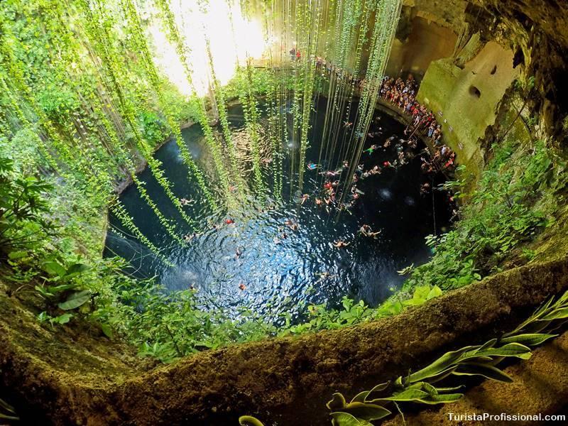 Cenote Ik Kil Riviera Maya México