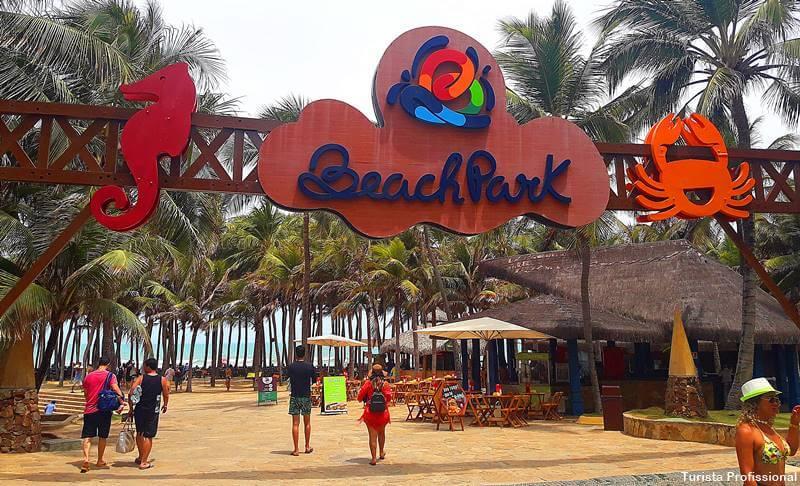 Entrada do Beach Park quanto é
