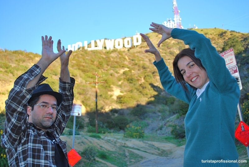 letras de Hollywood 2 - Dica de hotel em Hollywood
