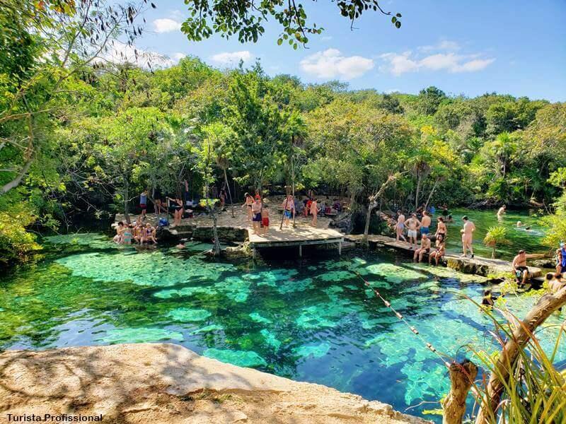 Onde fica o Cenote Azul