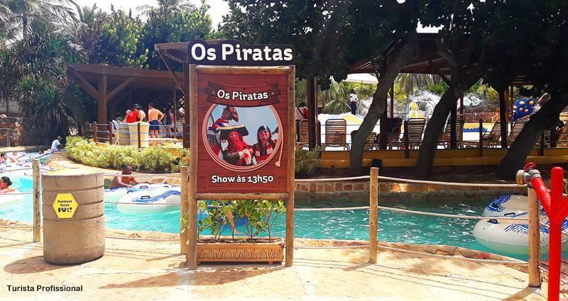 show dos piratas no beach park resort