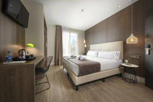 Hotel bem localizado em Barcelona