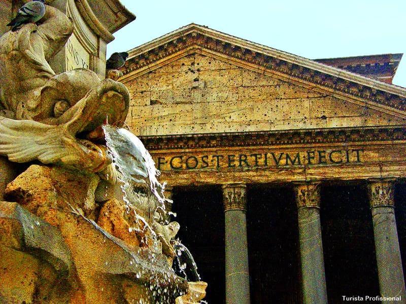 Panteao de Roma - Roteiro de 10 dias na Itália (norte e centro)