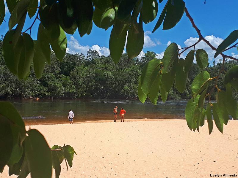 Praia de rio no Jalapão