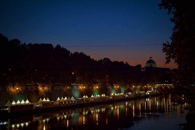 Tevere em Roma Italia - Dicas para curtir o verão em Roma