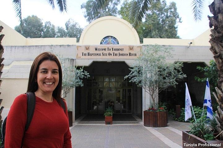 Yardenit em Israel - Rio Jordão - visita ao local do batismo de Jesus