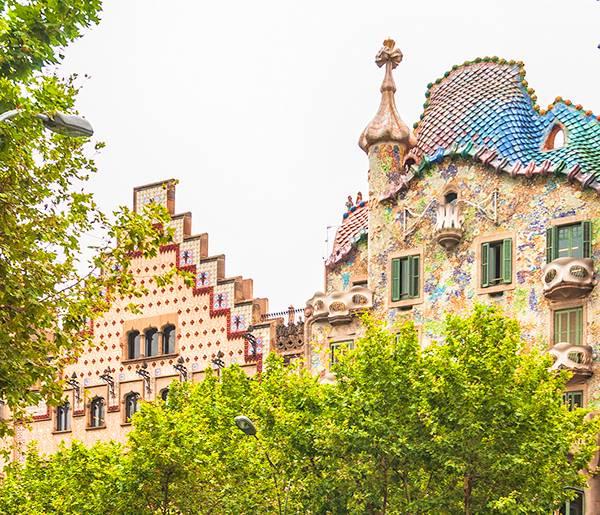 Casa Batló em Barcelona