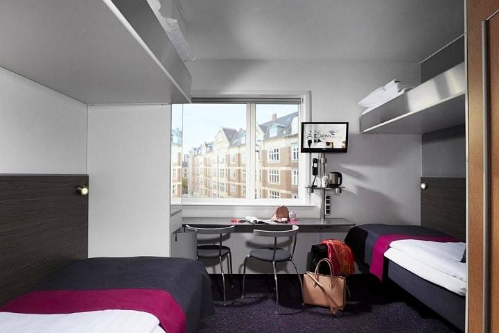 dica de hotel barato em Copenhagen