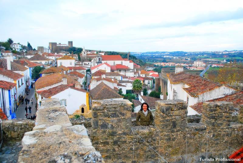 muralha de obidos 1 - Óbidos: roteiro, como chegar, o que fazer, onde ficar