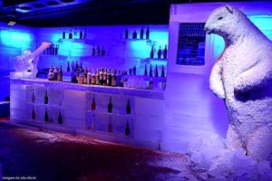 interior do icebar iguazú