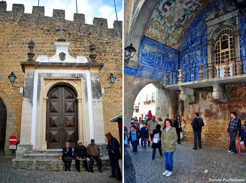 entrada de Óbidos portugal